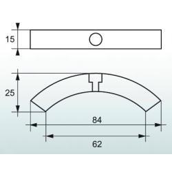 Motorzink til 3 bladet Volvo foldepropel - 2
