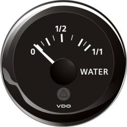 VDO vandtank ur, 8-32V, 4-20mA - 1