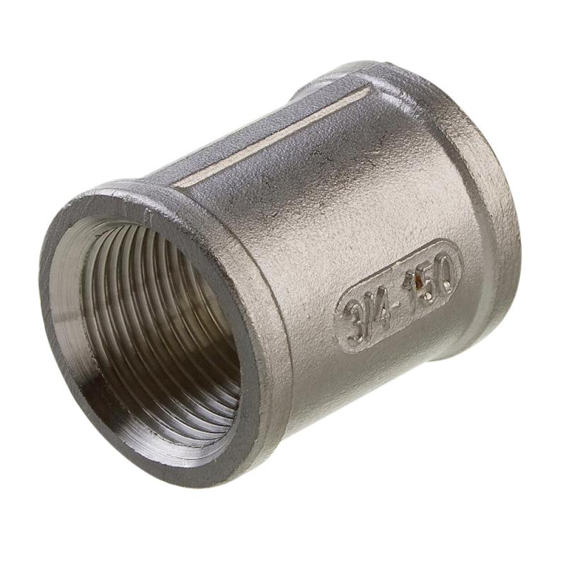 Rørmuffe i rustfrit stål AISI 316 - 1