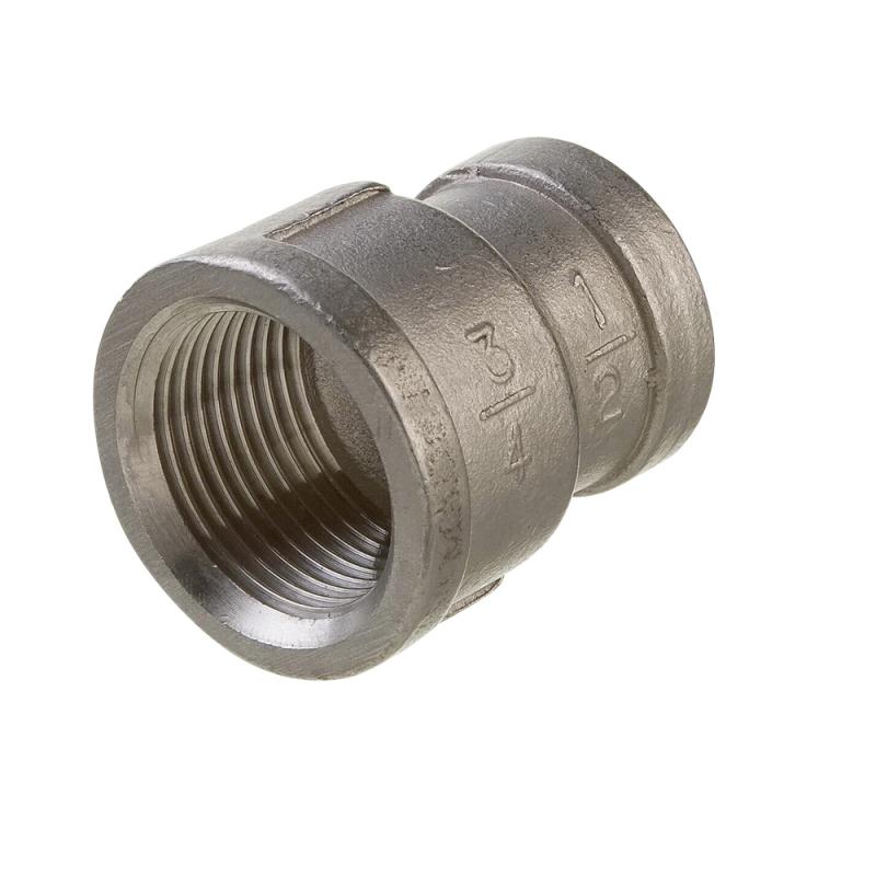Reduktionsmuffe i rustfrit stål AISI 316 - 1
