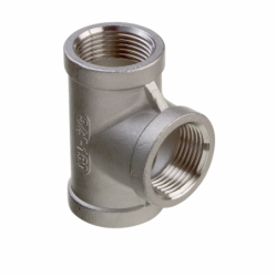 T-rør i rustfrit stål AISI 316 - 1