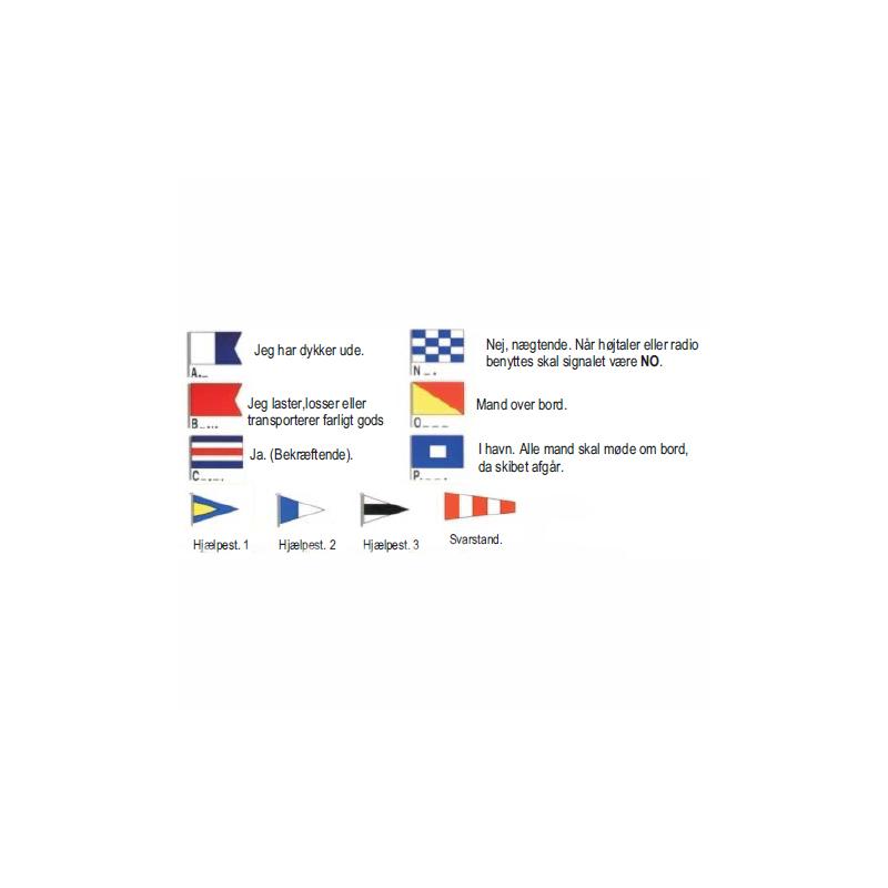 Diverse signalflag - 2