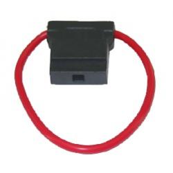 Sikringsholder fladsikring max 30amp - 1