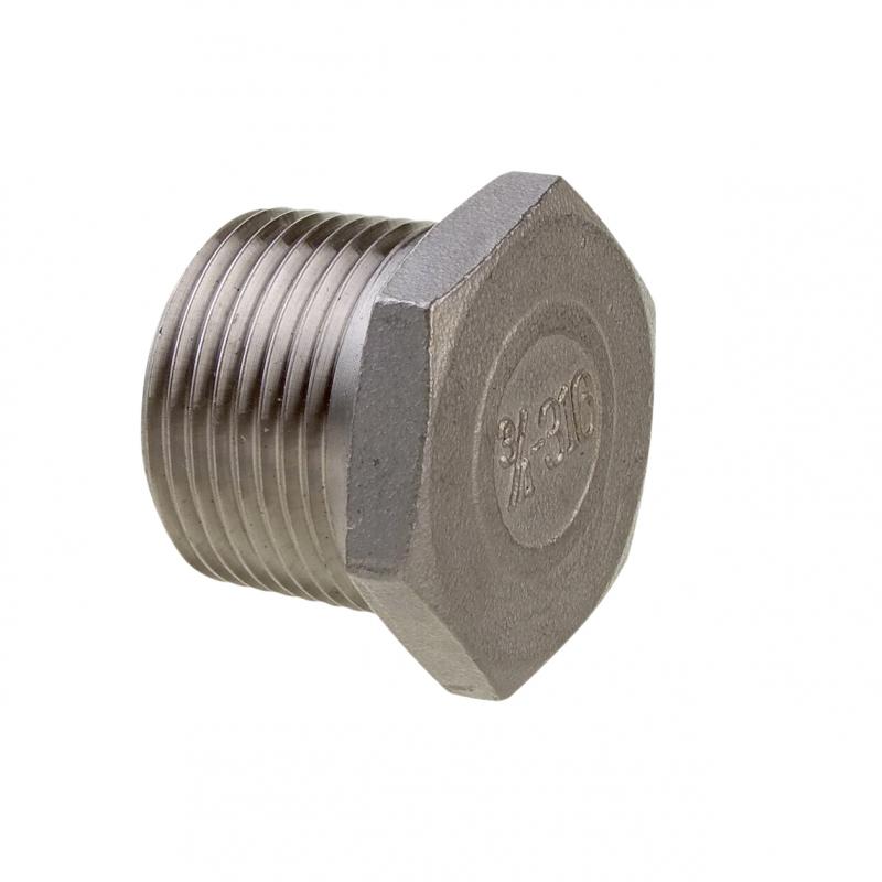 Enkelt blok m/sjækel & hunsvot 10 mm, Viadana