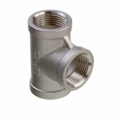 T-rør i rustfrit stål AISI 316 - 8