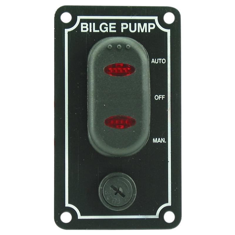 Vandtæt lænsepumpe kontaktpanel - 1