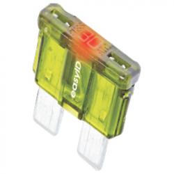 Fladsikring med LED - 10