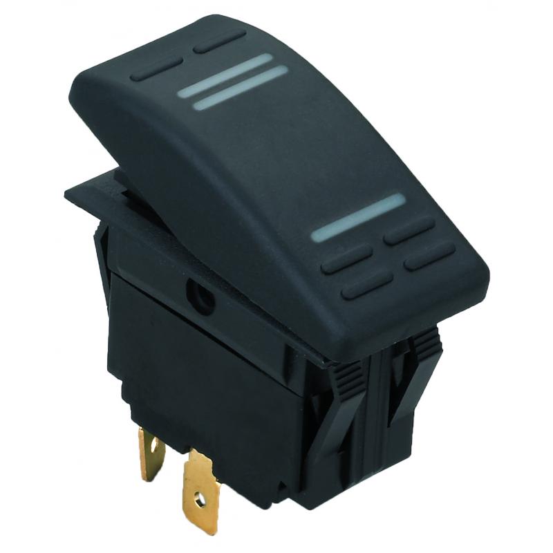 Stænktæt kontakt med LED - 5