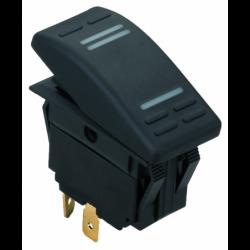 Stænktæt kontakt med LED - 1