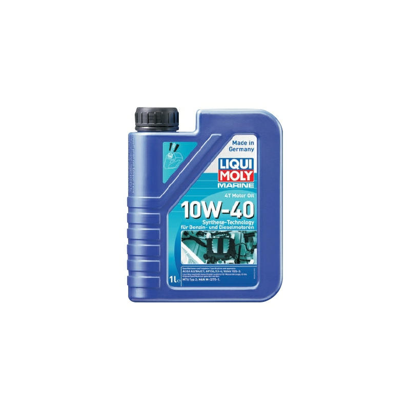 Liqui Moly 4T Motorolie 10W/40 - 2