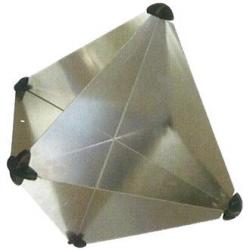 Sammenklappelig radarreflektor