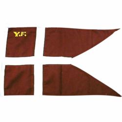 Splitflag, Y.F. trykt - 1