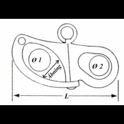 Fokkekrog uden svirvel - 2